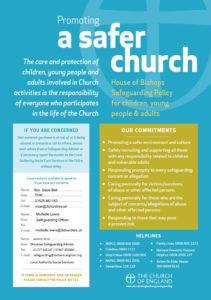 POSTER - Promoting a safer church
